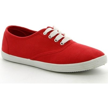 Chaussures Femme Baskets basses Pomme Passion Chaussure femme Basket VICKY Rouge