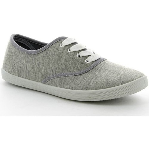 Chaussures Femme Baskets basses Pomme Passion Chaussure femme Basket VICKY Gris