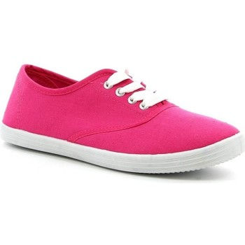 Chaussures Femme Baskets basses Pomme Passion Chaussure femme Basket VICKY Fuchsia
