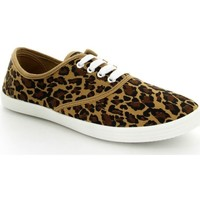 Chaussures Femme Baskets basses Pomme Passion Chaussure femme Basket VICKY Leopard
