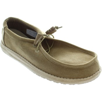 Chaussures Homme Chaussures bateau Hey Dude Wally Beige