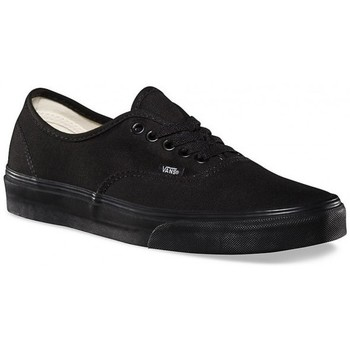 Chaussures Baskets basses Vans Chaussures  U Authentic - Black / Black Noir