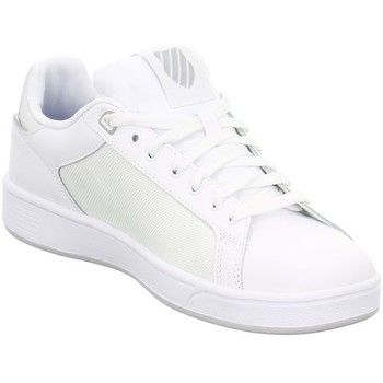 Chaussures Femme Baskets basses K-Swiss Clean Court Cmf Blanc