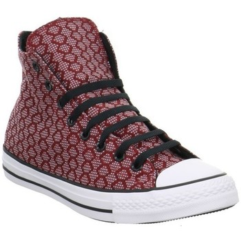 Chaussures Baskets montantes Converse CT AS HI Rouge