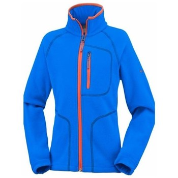 Vêtements Enfant Polaires Columbia FAST TREK II FULL ZIP SUPER BLUE VESTE POLAIRE ENFANT SUPER BLUE