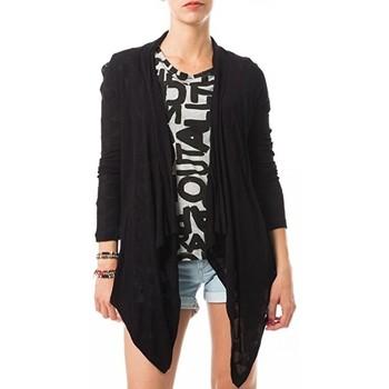 Blouses Vero moda fast egypt l/s drapy cardigan it 10112493 noir