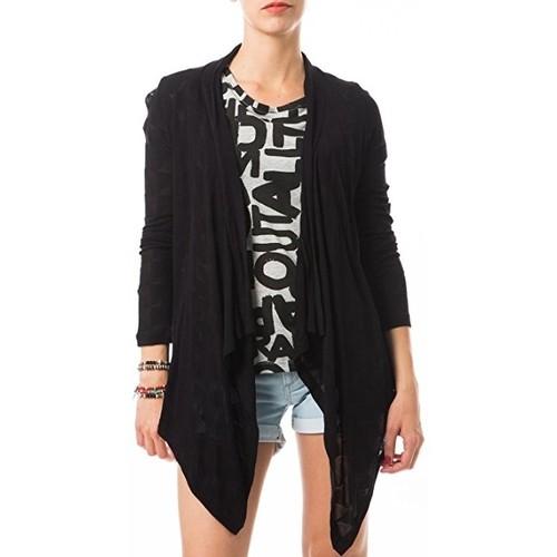Vêtements Femme Tops / Blouses Vero Moda Fast Egypt L/S Drapy Cardigan It 10112493 Noir Noir