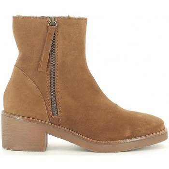 Chaussures Femme Bottines Bryan 101 Marron