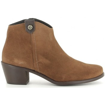 Chaussures Femme Bottines Oskarbi 90.300 (5902) Marron
