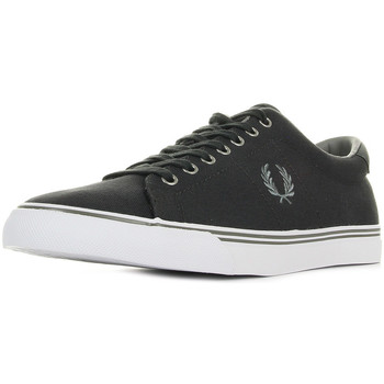 Chaussures Homme Baskets basses Fred Perry Underspin Canvas Charcoal gris