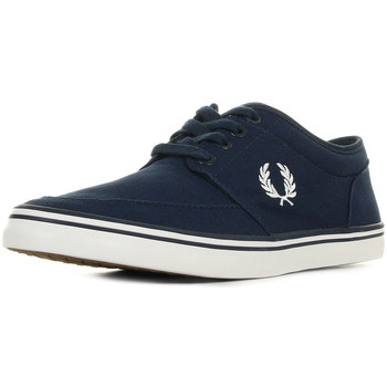 Chaussures Homme Baskets basses Fred Perry Stratford Canvas Carbon Blue bleu