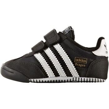 Chaussures Enfant Baskets basses adidas Originals Chaussure Dragon Learn 2 Walk Noir / Blanc