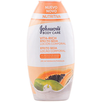Beauté Hydratants & nourrissants Johnson's Baby Vita-rich Efecto Seda Papaya Loción Corporal  400 ml