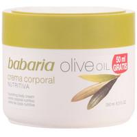 Beauté Femme Hydratants & nourrissants Babaria Aceite De Oliva Crema Nutritiva Corporal  250 ml