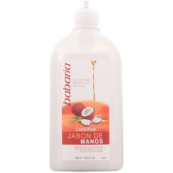 Beauté Produits bains Babaria Aloe Vera & Coco Jabón Líquido Manos  500 ml