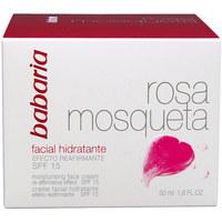 Beauté Femme Hydratants & nourrissants Babaria Rosa Mosqueta Hidratante 24h Crema Facial  50 ml