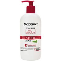 Beauté Hydratants & nourrissants Babaria Piel Atopica Aloe Vera Body Milk 0%  400 ml