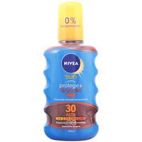 Beauté Protections solaires Nivea Sun Protege&broncea Aceite Spf30  200 ml