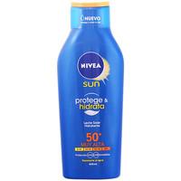 Beauté Protections solaires Nivea Sun Protege&hidrata Leche Spf50+ 400 ml