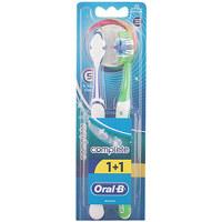 Beauté Accessoires visages Oral-B Complete 5 Ways Clean Cepillo Dental medio  2 pz