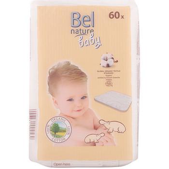 Beauté Démaquillants & Nettoyants Bel Nature Ecocert Maxi Discos Bebé Algodón 100% Orgánico 60 Pz