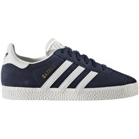 Chaussures Enfant Baskets basses adidas Originals ZAPATILLAS  GAZELLE ORIGINALS Bleu
