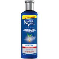 Beauté Shampooings Natur Vital Shampoing Anticaida Anticaspa 300 +100 Ml