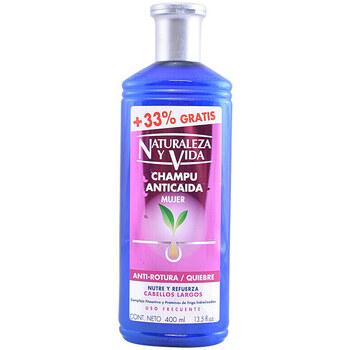Beauté Shampooings Naturaleza Y Vida Shampoing Anticaida Antirotura 300+100 Ml 400 ml