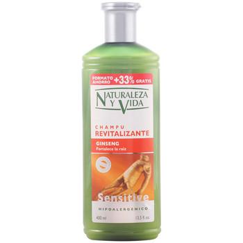 Beauté Shampooings Natur Vital Shampoing Sensitive Revitalizante 300+100 Ml