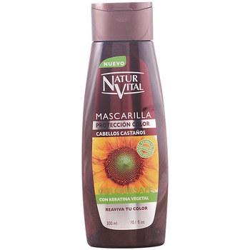 Beauté Soins & Après-shampooing Natur Vital Masque Coloursafe Castaño