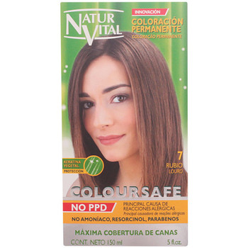 Beauté Femme Colorations Naturaleza Y Vida Coloursafe Tinte Permanente 7-rubio  150 ml
