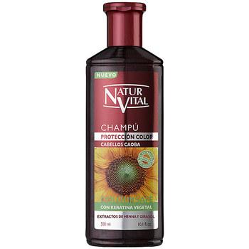 Beauté Femme Shampooings Naturaleza Y Vida Shampoing Color Caoba  300 ml