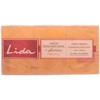 Beauté Produits bains Lida Savon 100% Natural Glicerina Original Coffret 3 Pz 3 u