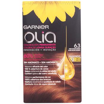 Beauté Accessoires cheveux Imedia Olia Coloración Permanente 6,3 Rubio Oscuro Dorado  4 pz