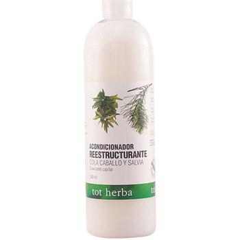 Beauté Femme Soins & Après-shampooing Tot Herba Acondicionador Capilar Cola Caballo&salvia  500 ml