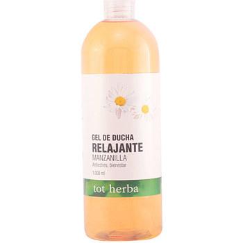 Beauté Femme Produits bains Tot Herba Gel Douche Relajante Manzanilla  1000 ml