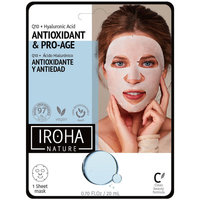 Beauté Femme Masques & gommages Iroha Nature Tissue Mask Antiwrinkles Q10 + Ha  1 use