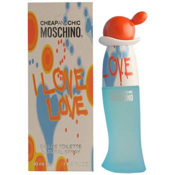 Beauté Femme Eau de toilette Love Moschino Cheap And Chic I Love Love Edt Vaporisateur  30 ml
