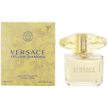 Beauté Femme Eau de toilette Versace Yellow Diamond Edt Vaporisateur  90 ml