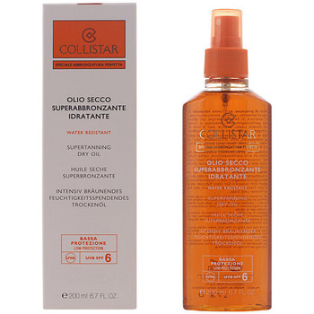 Beauté Protections solaires Collistar Perfect Tanning Dry Oil Spf6  200 ml