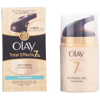 Beauté Femme Hydratants & nourrissants Olay Total Effects Anti-edad Hidratante Sin Parfum  50 ml