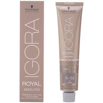 Beauté Accessoires cheveux Schwarzkopf Igora Royal Absolutes Anti-age Color Creme 5-50  60 ml