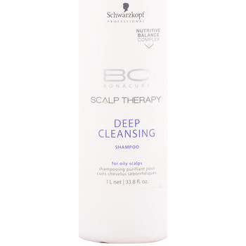 Beauté Shampooings Schwarzkopf Bc Scalp Therapy Deep Cleansing Shampoo  1000 ml