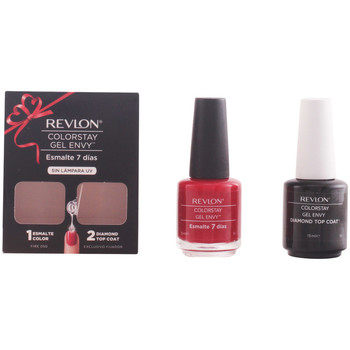 Beauté Femme Vernis à ongles Revlon Colorstay Gel Envy Duo Fire Coffret  2 pz