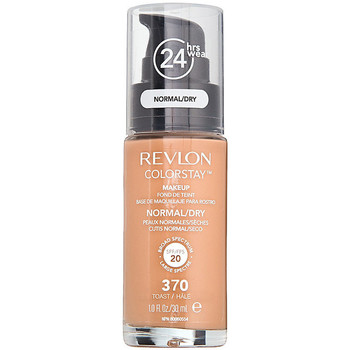 Beauté Femme Fonds de teint & Bases Revlon Colorstay Foundation Normal/dry Skin 370-toast  30 ml