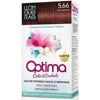 Beauté Accessoires cheveux Llongueras Optima Hair Colour 5.66-deep Intense Red