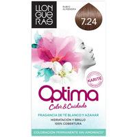 Beauté Accessoires cheveux Llongueras Optima Hair Colour 7.24-almond Blond