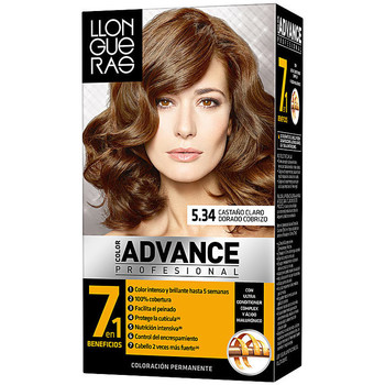 Beauté Accessoires cheveux Llongueras Color Advance 5,34 Castaño Claro Dorado Cobrizo