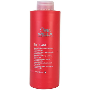 Beauté Shampooings Wella Brilliance Shampoo Fine/normal Hair  1000 ml