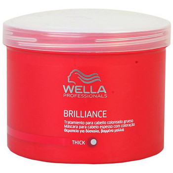 Beauté Shampooings Wella Brilliance Mask Coarse Hair  500 ml